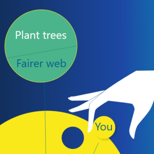 Plant trees, create a fair web, earn Seed tips